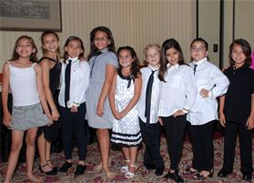 Val Kenefick & dancing kids of OC DANCE STUDIO in orange county