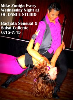Salsa Dance Lessons in Orange County by Best Salsa Instructor! Mike Zuniga