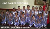 Kids Ballet Program ages 3 to 7