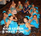 KIDS BALLET LESSONS AGES 3-13
