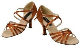 Stephanie Latin & Salsa Dance Shoes wide straps only $99