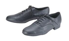 Nice & Affordable 6010B style Boy's Ballroom Shoes, Black Soft Leather only $59!
